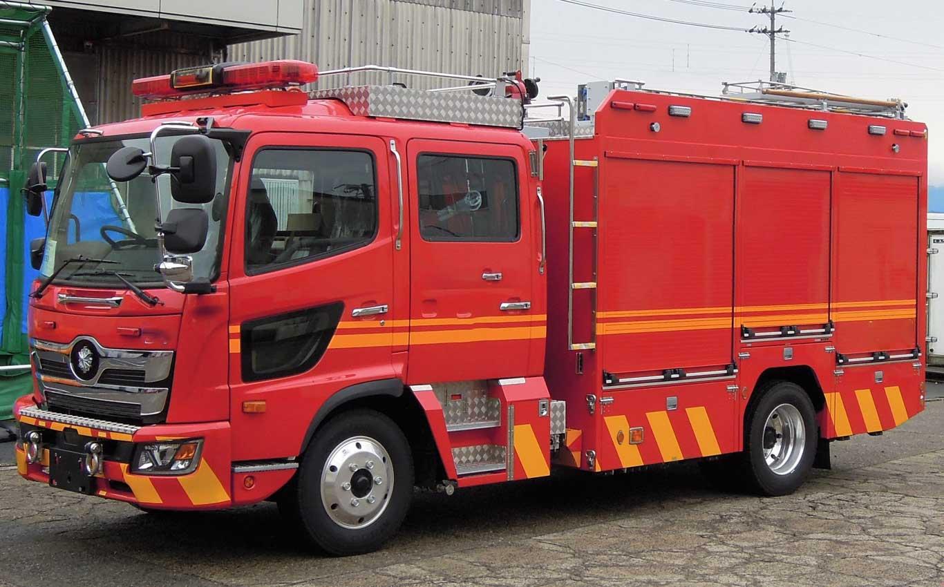 化学消防ポンプ車