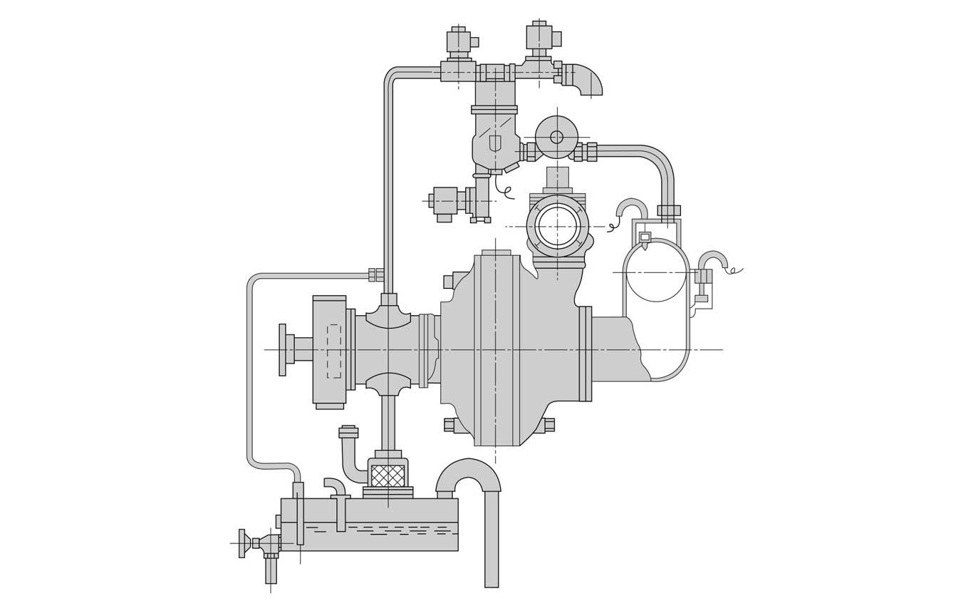 真空ポンプオイル循環再利用装置