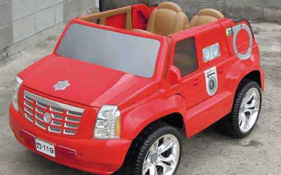 ミニカー消防車