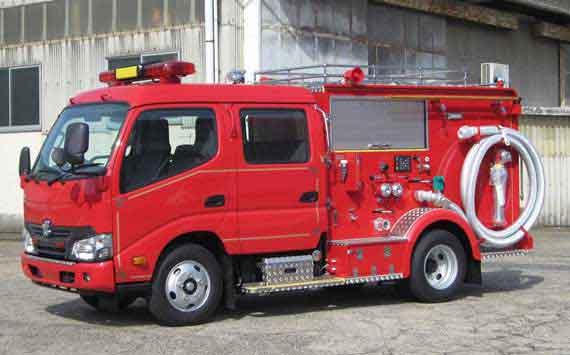 消防ポンプ車 CD-I型