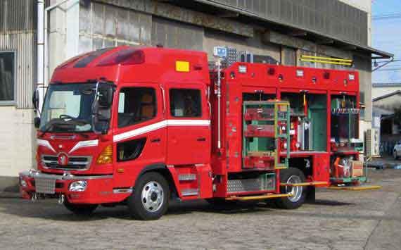 消防ポンプ車 CD-II型