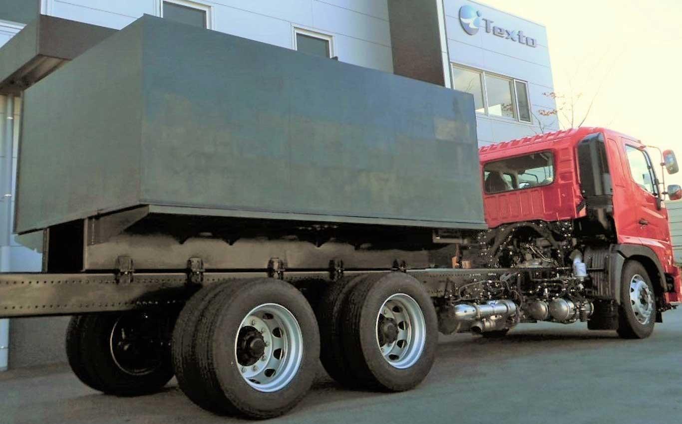 PPタンク:樹脂製消防車両用タンク
