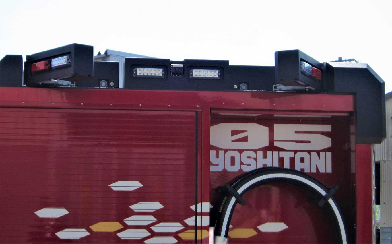 東京国際消防防災展2018展示車両